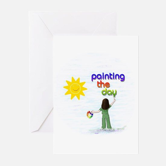 Painting the Day (A) Greeting Cards (Pk of 10)