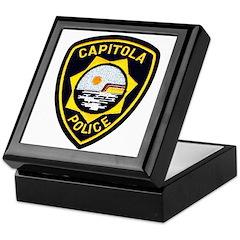 Capitola Police Keepsake Box