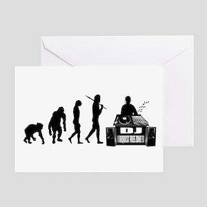 Dj Evolution Greeting Cards