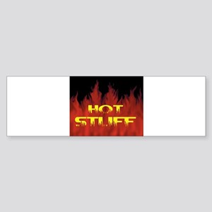 HOT STUFF Bumper Sticker