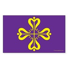 Calontir Ensign Rectangle Sticker