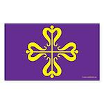 Calontir Ensign Rectangle Sticker