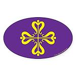 Calontir Ensign Oval Sticker (10 pk)