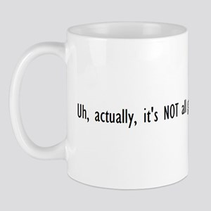 Uh, actually, it's NOT all good Mug
