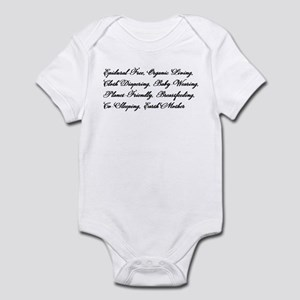 Earth Mother's Manifesto Infant Bodysuit