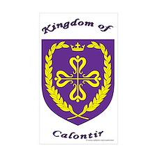 Kingdom of Calontir Rectangle Sticker 50 pk)