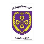 Kingdom of Calontir Rectangle Sticker 10 pk)