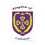 Kingdom of Calontir Rectangle Sticker