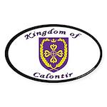 Kingdom of Calontir Oval Sticker (50 pk)