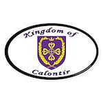 Kingdom of Calontir Oval Sticker (10 pk)