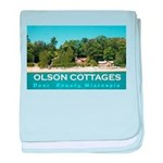 Olson Cottages baby blanket