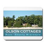 Olson Cottages Mousepad