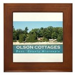 Olson Cottages Framed Tile