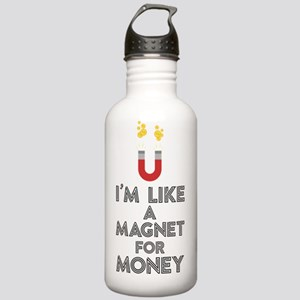 Like a magnet for mone Stainless Water Bottle 1.0L