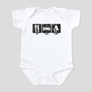 Eat, Sleep, Climb Infant Bodysuit