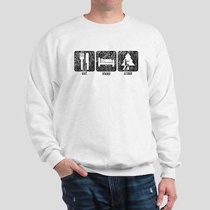Eat, Sleep, Climb Sweatshirt