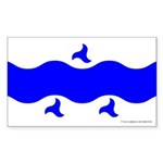 Trimaris Ensign Rectangle Sticker 50 pk)