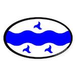 Trimaris Ensign Oval Sticker (10 pk)