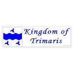 Trimaris Ensign Bumper Sticker (10 pk)