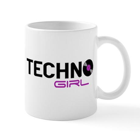 Techno Girl Mug