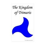 Trimaris Populace Rectangle Sticker 50 pk)