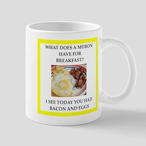 moron Mugs