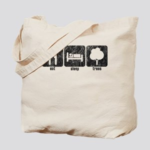 Eat Sleep Trees (deciduous) Tote Bag