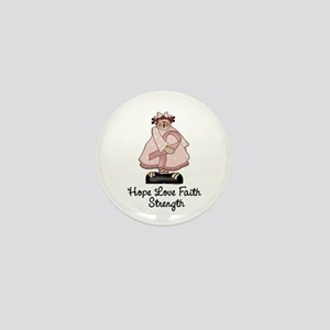 Country Girl Hope PINK 1 Mini Button
