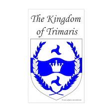 Kingdom of Trimaris Rectangle Sticker