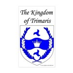 Kingdom of Trimaris Rectangle Sticker