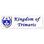 Kingdom of Trimaris Bumper Sticker (10 pk)