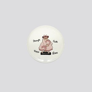 Country Girl Hope PINK 2 Mini Button