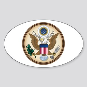 Presidents Seal Oval Sticker