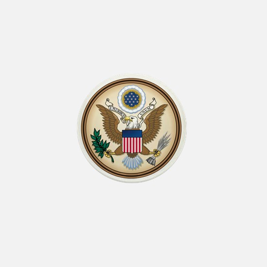 Presidents Seal Mini Button