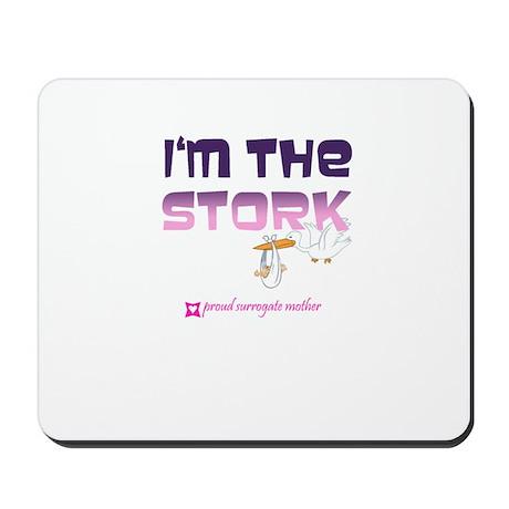 I'm the Stork Mousepad