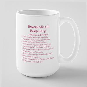 Breastfeeding is Bestfeeding! Large Mug