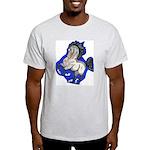 Noble Fantasy Grey horse Light T-Shirt
