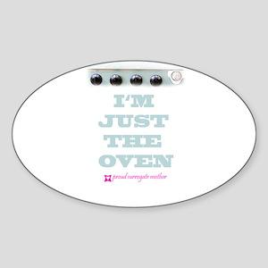 Accessories Oval Sticker