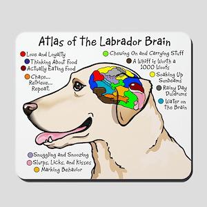 Yellow Lab Brain Mousepad
