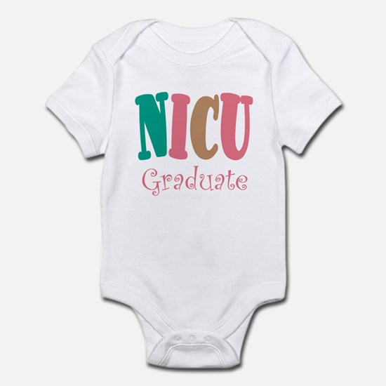 NICU Graduate Pink Baby Toddler Infant Bodysuit