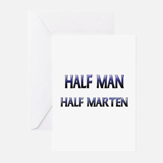 Half Man Half Marten Greeting Cards (Pk of 10)