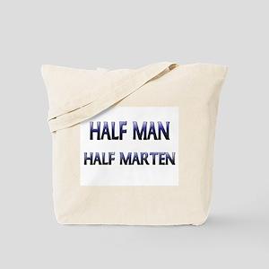 Half Man Half Marten Tote Bag