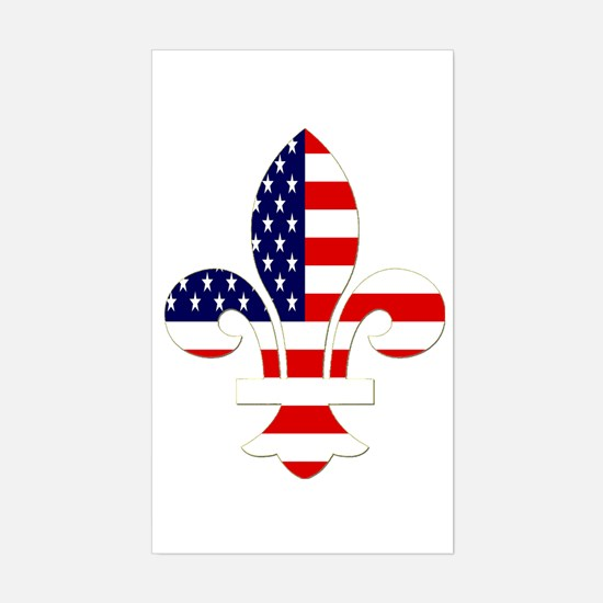 NOLa USA Rectangle Decal