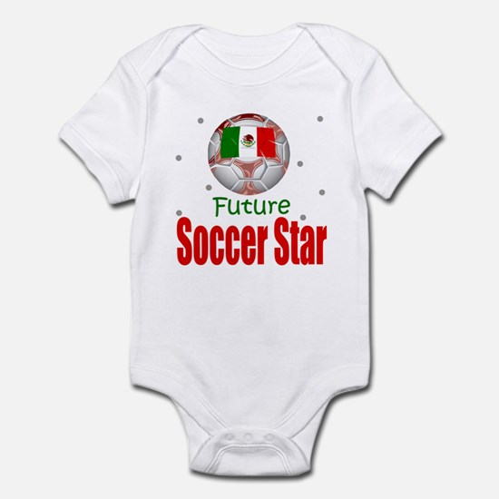 Future Soccer Star Mexico Baby Infant Bodysuit