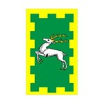 Outlands Populace Ensign Rectangle Sticker 10 pk)