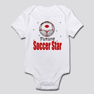 Future Soccer Star Japan Baby Infant Bodysuit