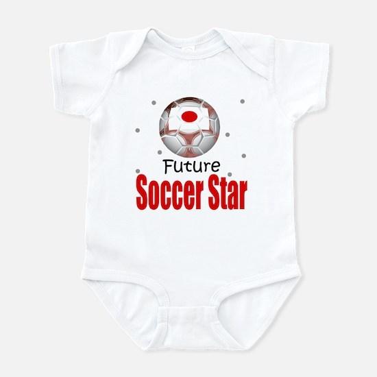 Future Soccer Star Japan Baby Infant Bodysuit