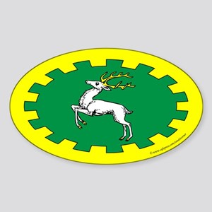 Outlands Populace Ensign Oval Sticker