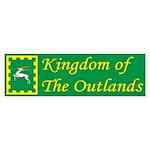 Outlands Populace Ensign Bumper Sticker (10 pk)