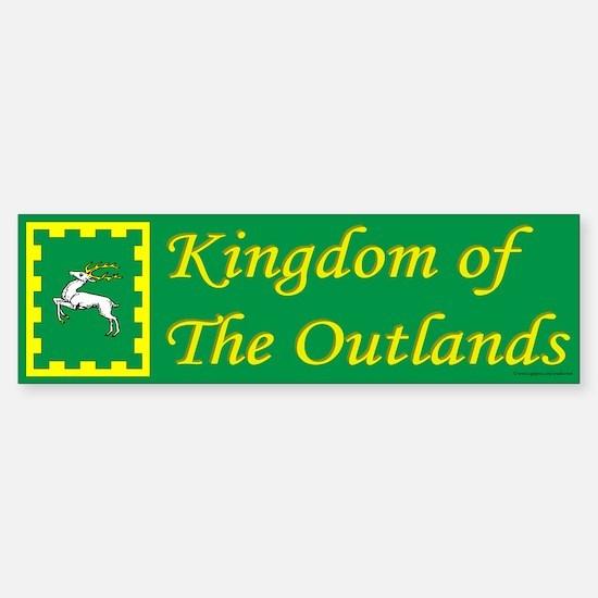 Outlands Populace Ensign Bumper Bumper Bumper Sticker